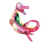 Kitty's Critters Dragon Ornament: Hot To Trot