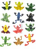 72 Mini Frogs in Assorted Colors & Styles