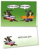 After a While Gator Greeting Card