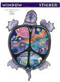 Peace Turtle Decal