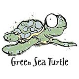 Fun Green Sea Turtle T-Shirt (Youth)