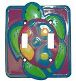 Turtle Time Double Switchplate