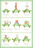 """B-earth-day"" Turtle Card"