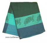 Blue Sea Turtle Jacquard Dishtowel