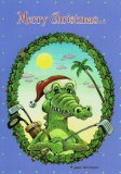 Snappy Croc Christmas Cards (box of 10)