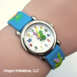 Fun Blue Gator Watch
