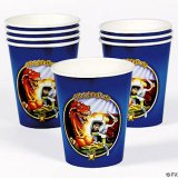 Dragon & Knight Party Cups (8)