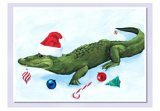 """Snappy Christmas"" Alligator Holiday Cards (15)"