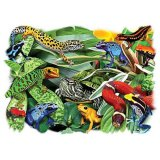 Dart Frogs and Reptiles T-Shirt Adult