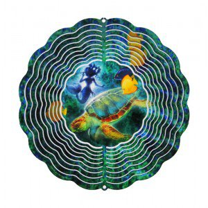 Metal Art Sea Turtle - Medium EyeCatcher Windspinner