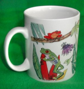 All Around Frogs Mug
