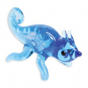 Jackson the Chameleon Mini Glass Sculpture