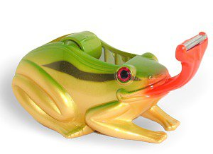 Green Frog Tape Dispenser