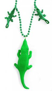Flashing Alligator Necklace