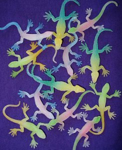 Glow in the Dark Lizards (12)