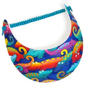 Colorful Gators Sun Visor