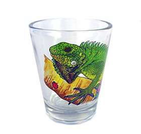 Iguana Shot Glass