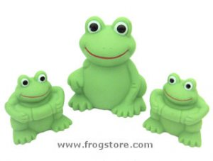 Squeaky Fun Frogs (3)