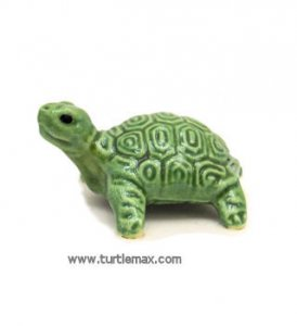 Porcelain Miniature: Coin Turtle