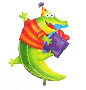 Leap Frog Friends: Alligator Party Balloon