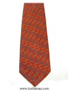 Snakes in Design Silk Necktie