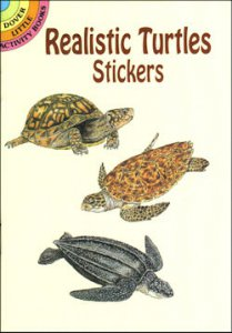 Realistic Turtle Stickers (16)