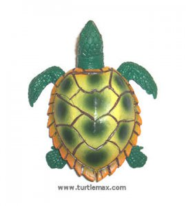 Green & Yellow Stretchy Sea Turtle