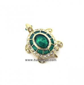 Mini Green Sea Turtle Jewel Box