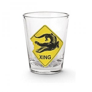 Gator Crossing Shot Glass