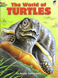 """The World of Turtles"" Coloring Book"