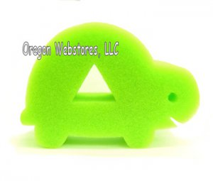 Soft Green Turtle Bath Sponge