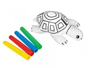 Turtle Color Tube Activity Set