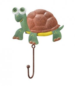 Metal Turtle Wall Hook