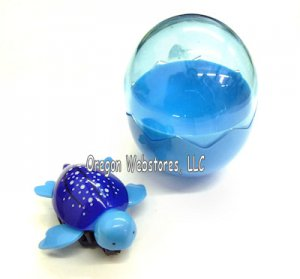 Pull-Back Sea Turtle Toy In Egg