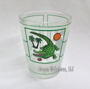 Island Gator Shot Glass