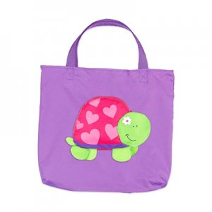 Handy Turtle Fold-Inside Tote Bag