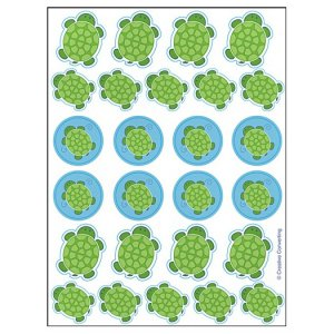 Mr. Turtle: Stickers (4 Sheets)