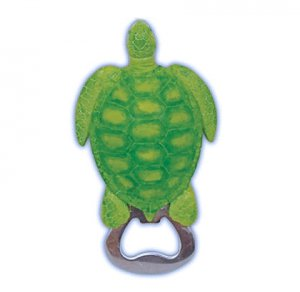 Sea Turtle Bottle Opener Magnet