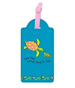 """Little Things"" Sea Turtles Luggage Tag"