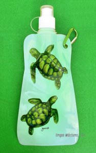Sea Turtle Folding Waterbottle