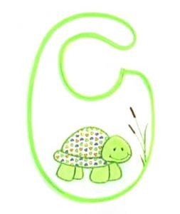 Cute Turtle Baby Bib