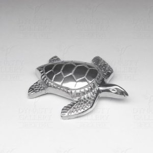 Solid Aluminum Sea Turtle Sculpture
