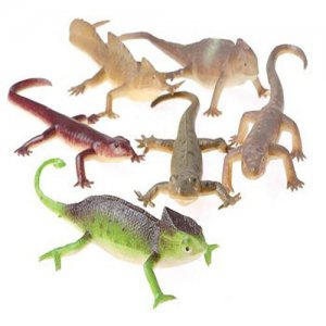 6-inch Toy Lizards (12)
