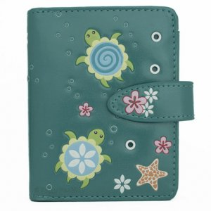 Small wallet - Turtle pond