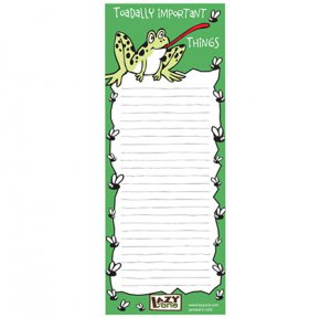 Toadally Important Notepad